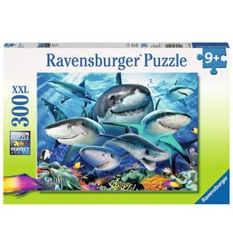 Ravensburger Ravensburger Puzzle - Smiling Sharks - 300 Piece