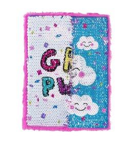 3 Cheers for Girls Sequin Journal - Girl Power