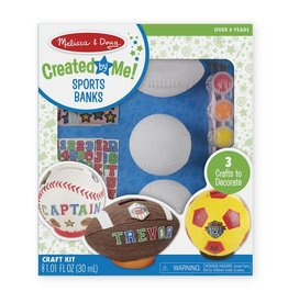 Melissa & Doug Created by Me! Sports Banks