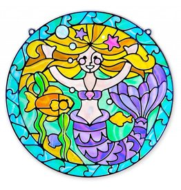 Melissa & Doug Stained Glass - Mermaid