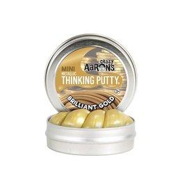 Crazy Aaron Putty Crazy Aaron's Thinking Putty - Metallic - Brilliant Gold Mini Tin