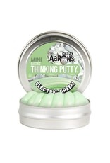Crazy Aaron Putty Crazy Aaron's Thinking Putty - Electric - Green Mini Tin