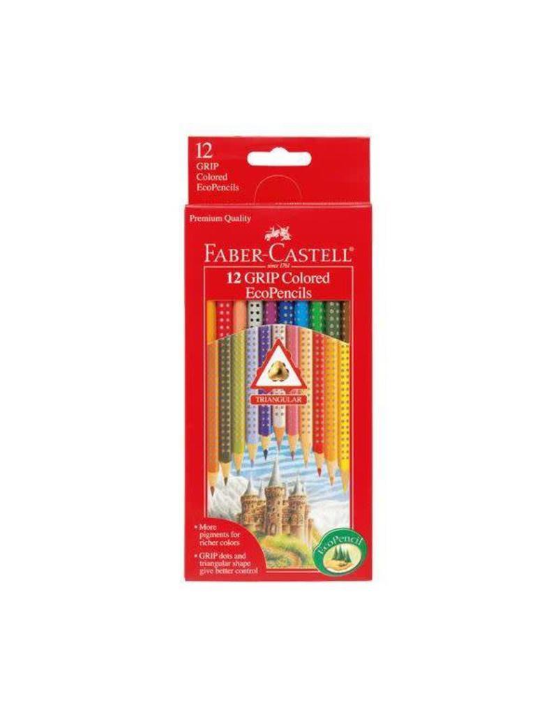 Faber-Castel Faber-Castell 12 Grip Colored EcoPencils