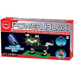 EBlox Power Blox - Light-Up 3D Builds