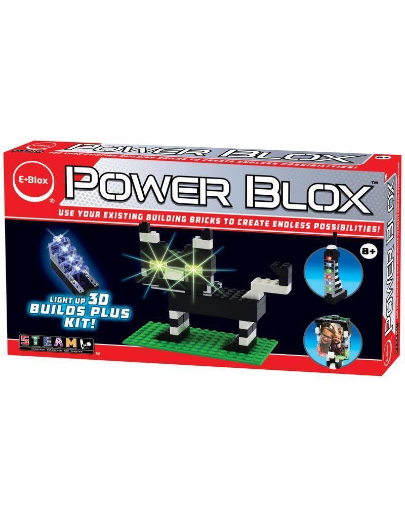 EBlox Power Blox - Light-Up 3D Builds