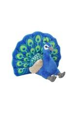 """Wild Republic Plush Peacock (12"""")"""