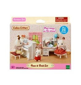 Calico Critters Calico Critters Piano & Desk Set