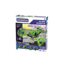 Thames & Kosmos Engineering Makerspace Kit 10-in-1 - Alien Robots