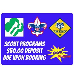 Pow! Science! Scout Programs Deposit