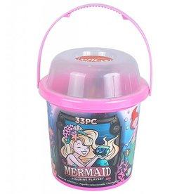 Wild Republic Bucket - Mermaid (33 Pieces)