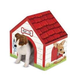 Melissa & Doug Dog House Cardboard Structure