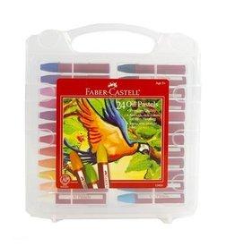 Faber-Castell Art Supplies - 24 Oil Pastels Set