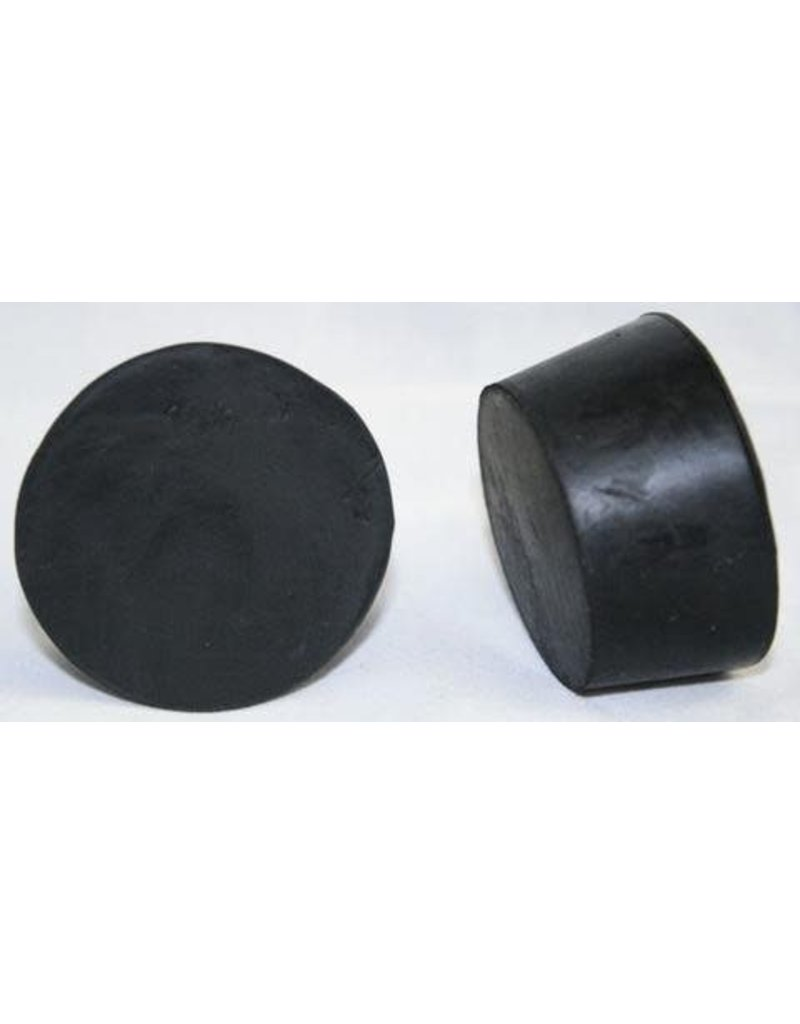 American Educational Products Rubber Stopper Size 10 - Solid Black