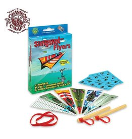 Channel Craft Slingshot Flyers - Paper Airplanes