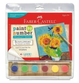 Faber-Castel Paint By Number Museum Series-Sunflowers