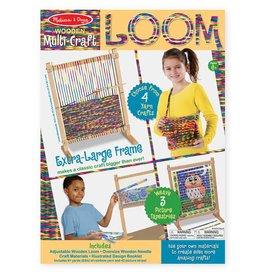 Melissa & Doug Craft Kit Multi-Craft Weaving Loom