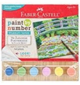 Faber-Castell Paint By Number Museum Series - Japanese Footbridge