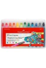 Faber-Castel Faber-Castell 12 Gel Crayons