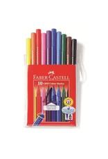 Faber-Castel Faber-Castell 10 Grip Color Markers