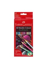 Faber-Castel 12ct Metallic Colored EcoPencils