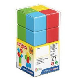 MagiCube MagiCube Magnetic Multicolored Preschool Blocks (8 piece)