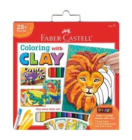 Faber-Castel Do Art Coloring with Clay