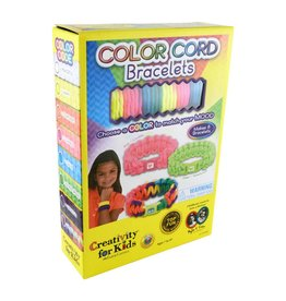 Creativity for Kids Craft Kit Jewelry Color Cord Bracelet