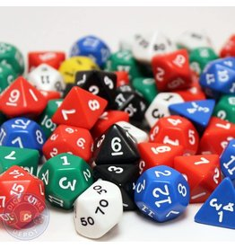 Koplow Games Opaque Polyhedral Dice (Assorted)