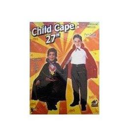 """Forum Novelties Black Cape - Child's 27"""""""