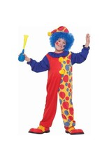 Forum Novelties Children's Clown Costume - Boys Small 4-6