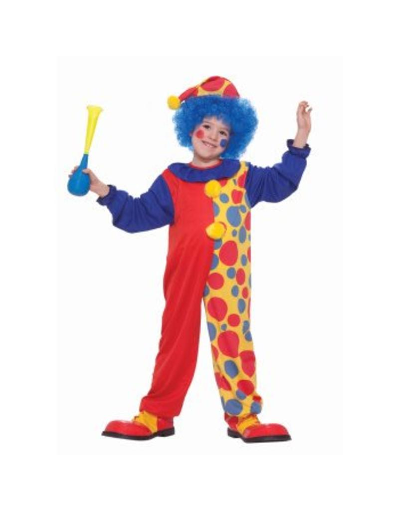 Forum Novelties Children's Clown Costume - Boys Medium 8-10