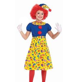 Forum Novelties Costume - Clown - Girl's Medium