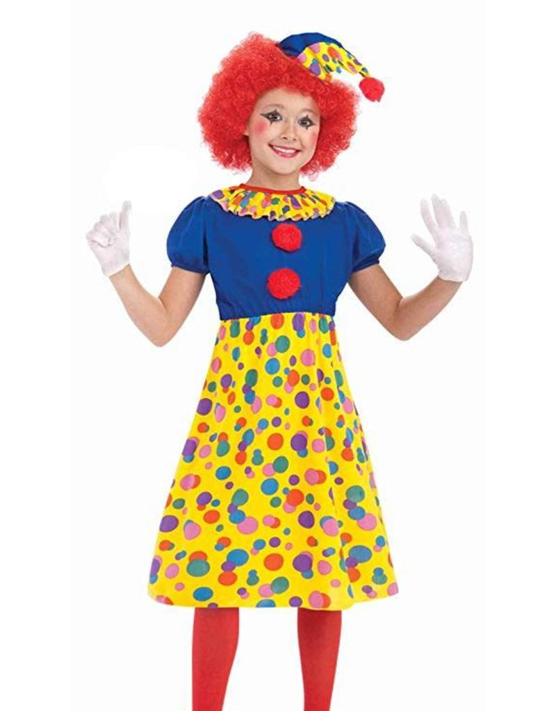 Forum Novelties Clown Costume - Girls Medium
