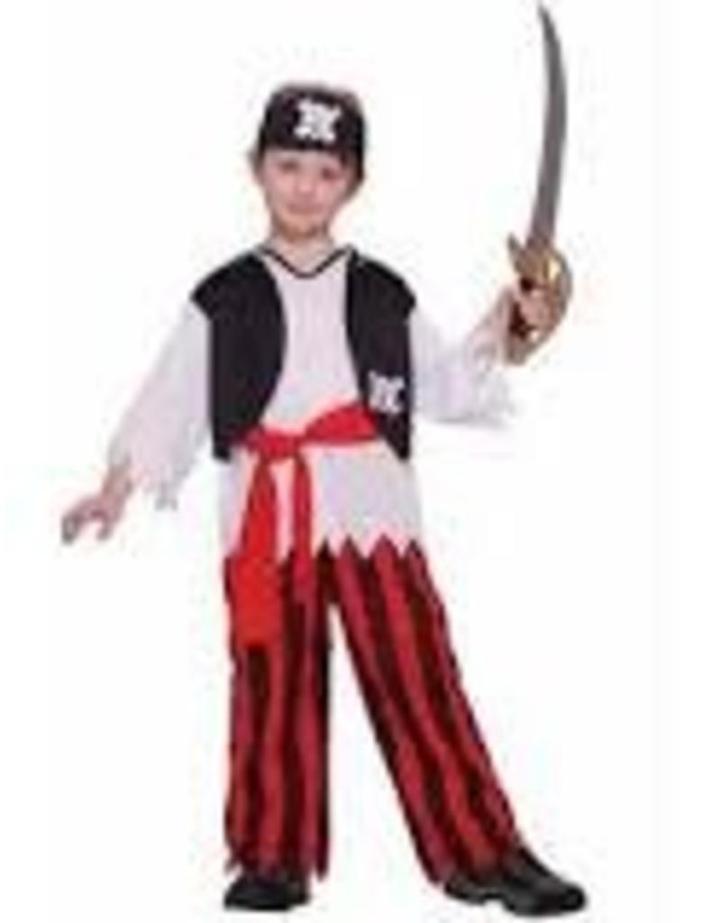 Forum Novelties Pirate Costume - Child Medium