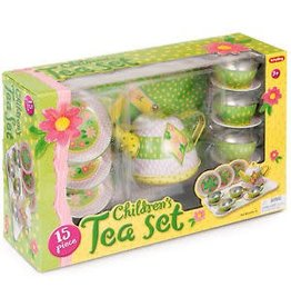 Schylling Toys Childrens Tin Tea Set