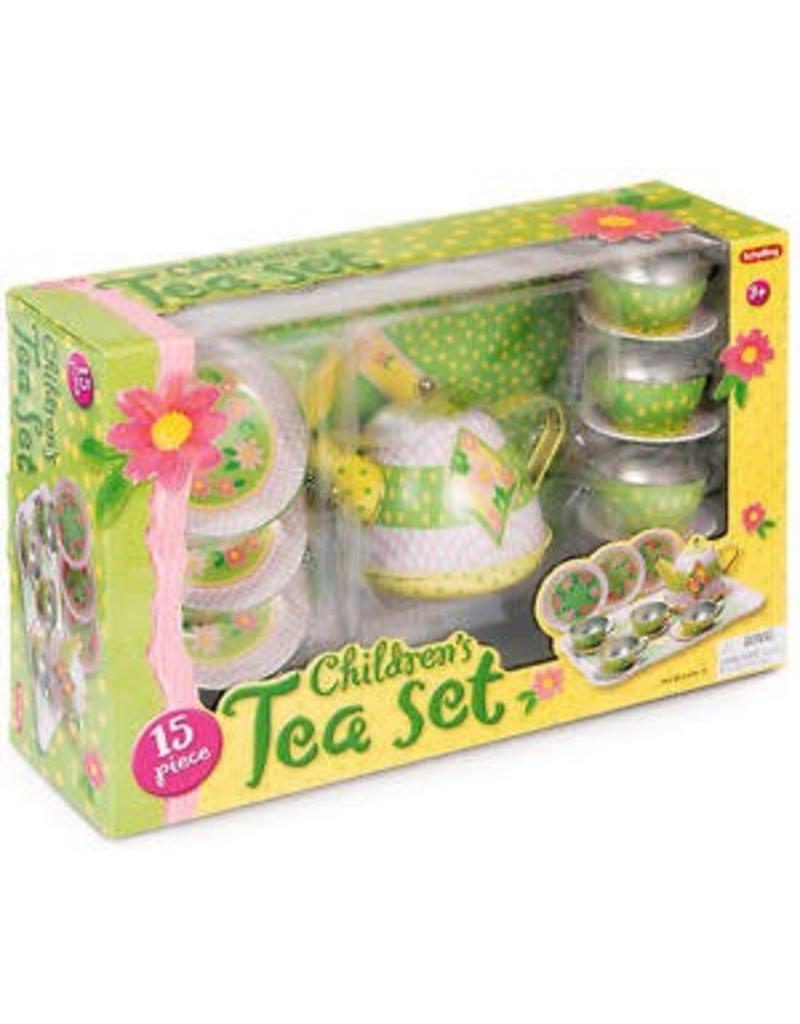 Schylling Toys Childrens Tin Tea Set