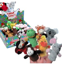 Schylling Toys Plush Finger Puppets - Assorted