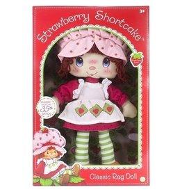 """Schylling Toys Strawberry Shortcake Rag Doll (13"""")"""