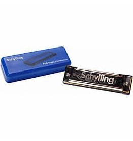 Schylling Toys Musical Blues Harmonica In Plastic Case