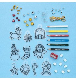 Faber-Castel Shrink Fun Jewelry - Holiday Designs