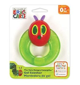 Kids Preferred The World of Eric Carle's Baby Caterpillar Gel Teether