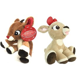 Kids Preferred Plush Rudolph / Clarice Mini Jinglers