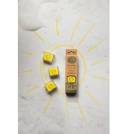 Glo Pals Glo Pals - Light Up Cubes - Alex (Yellow)