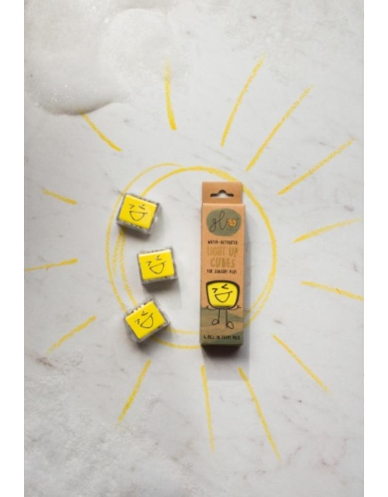 Glo Pals Glo Pals - Light Up Cubes - Alex (Yellow)