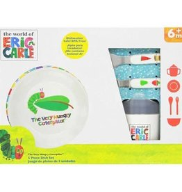 Kids Preferred The Very Hungry Caterpillar 5 Piece Dish Set