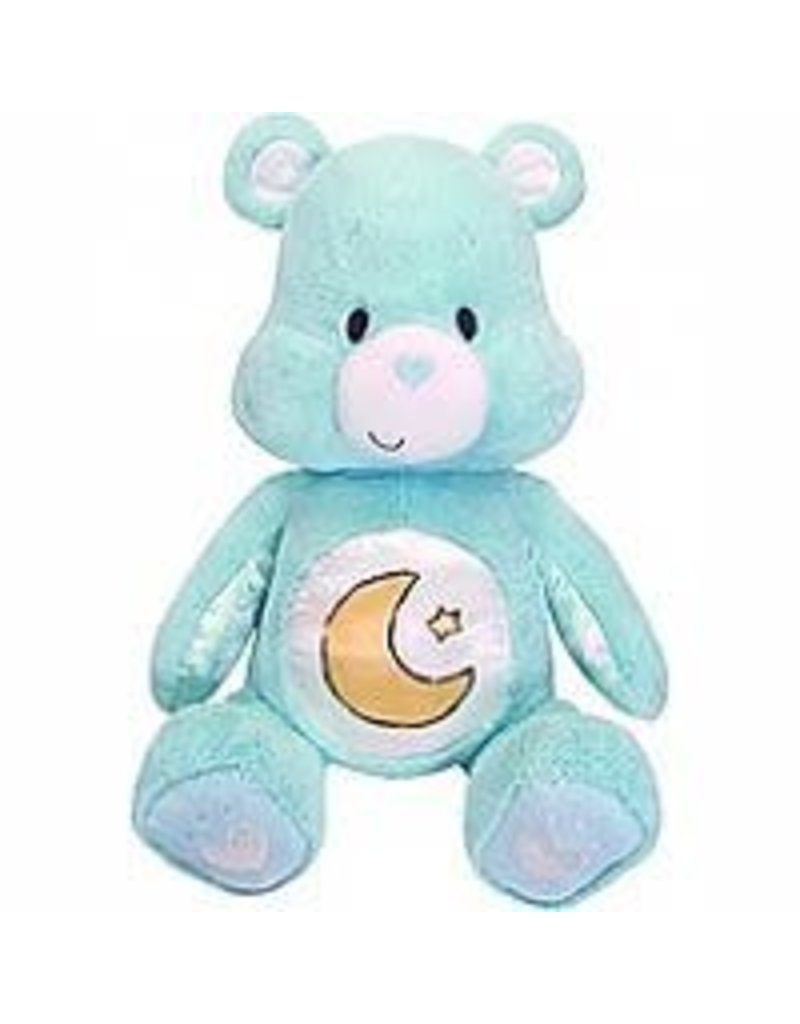 Kids Preferred Care Bears - Soother Bear w/Music & Lights Bedtime Bear - Blue