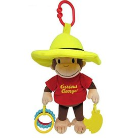 Kids Preferred Baby Plush Curious George Developmental Activity Toy 11.5""