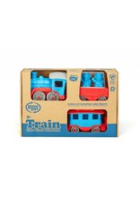 Green Toys Green Toys Blue Train with Play Figures