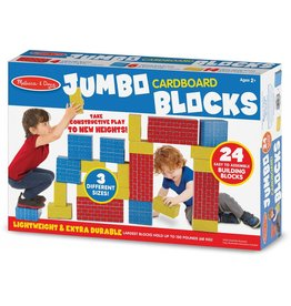Melissa & Doug Jumbo Cardboard Blocks (24 pc)