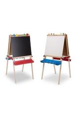 Melissa & Doug Art Supplies - Deluxe Wooden Standing Art Easel